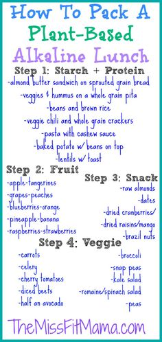 how to pack a plant based lunch