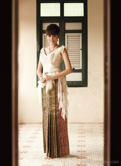 "Thai Traditional Dresses  ""Lorra by Monsiour"""