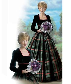 Princess Diana doll by Franklin Mint - not released pending approval from her estate