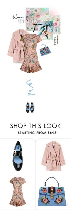 """""""it's okay to be a girl"""" by collagette ❤ liked on Polyvore featuring Lanvin, Carven, Zimmermann, Gucci, DANNIJO, Dannijo, gucci, carven and zimmerman"""