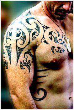 Maori Tribal Tattoo Designs Tips: Simple Maori Tribal Tattoo Designs For Men ~ Tattoo Design Inspiration