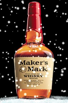 Makers Mark Snow Globe App.