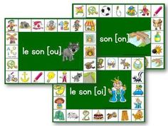 reading games for preschoolers - preschoolers reading activities Preschool At Home, Preschool Games, How To Speak French, Learn French, Reading Games, Reading Books, Reading Activities, Teachers Corner, Reading Intervention