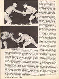 Magazine feature on Mr. Wrestling 2 (#3)