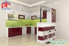 Giải pháp mới cho tủ bếp, lựa chọn vật liệu tủ bếp hợp lí PTL03