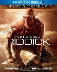 Riddick (Vudu Digital Video on Demand) Vin Diesel, Dvd Blu Ray, Raoul Trujillo, Nolan Gerard Funk, Katee Sackhoff, Dave Bautista, Black Friday Specials, Blu Ray Movies, Video On Demand