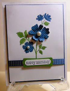 Flower - Stampin Up