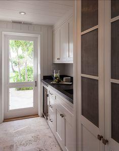 Beach Cottage in the Bahamas-limestone floors