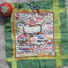 Embroidered Knots with Rebecca Ringquist