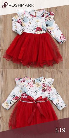 41e3e3f27de0 Rachel dress Bright and adorable dress for your little girl. Long sleeve is  perfect for spring! Dresses