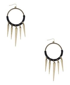 Spiked Tribal Earrings - Accessories - Jewelry - Earrings - 1000019720 - Forever21 - StyleSays