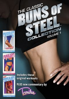 Buns of Steel 3, Abs of Steel and Arms & Abs of Steel now on DVD in this Classic collection!