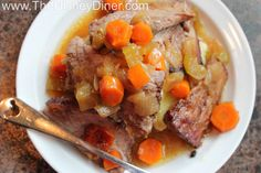 Mom's Old-fashioned Pot Roast Recipe from 50's Prime Time Cafe (Disney's...
