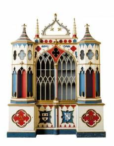 Amazing breakfront built for Brighton Pavilion, c. 1800... wish I found this one.