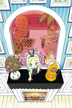 okamaによる挿絵。