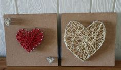 String Heart Art - How Wee Learn