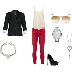 Not totally sure that I would wear the blazer but I love everything else