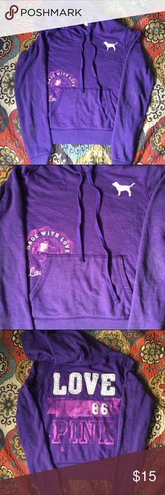 PINK hoodie Perfect condition. Super comfy!! PINK Victoria's Secret Tops Sweatshirts & Hoodies