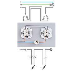 Lichtschalter Anschliessen Selbst De Lichtschalter Schalter Elektroinstallation Planen