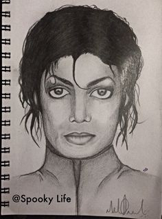 Michael Jackson. This is My new drawing of mj, hope u like it!! :D
