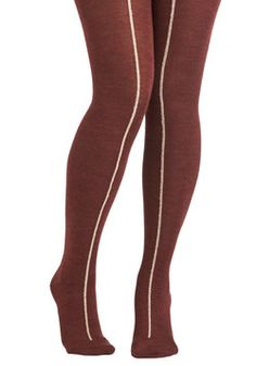 Maple Candy Stand Tights, #ModCloth