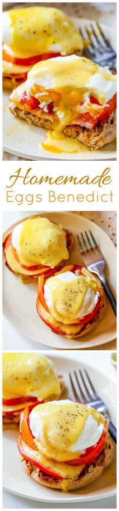 There is NOTHING like homemade eggs benedict on the weekend! Click through for my recipe.