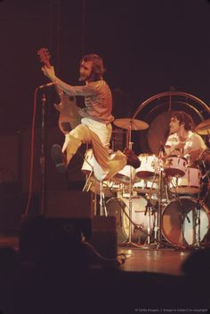 Pete Townshend and Keith Moon (The Who)