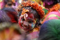Holi (Hindi: होली) is a religious spring festival celebrated by Hindus, as a festival of colors.
