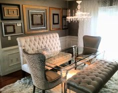 Love Kenya Moore's Dining room!