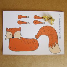 Make your own Fox by FandGForest on Etsy