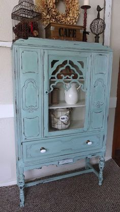 ASCP Duck Egg. Like my china cabinet; this is the nicest finish I've seen on it.