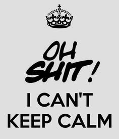 '   I CAN'T KEEP CALM' Poster
