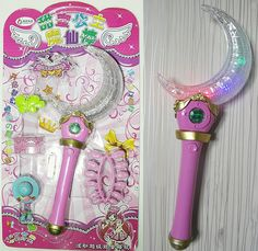 Sailor Moon Wand Moonlight Stick Crescent Moon Wand Stick Toy Collection *** Want additional info? Click on the image.