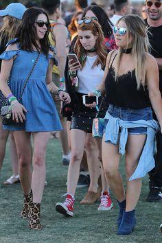 Los mejores looks del festival de #Coachella 2016 © Getty Images/ Cordon Press/ Gtresonline