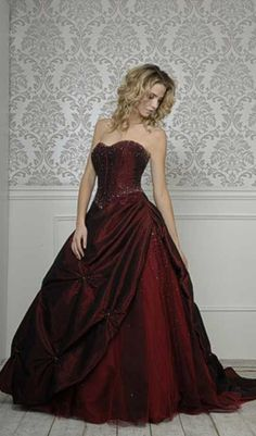 New Dress Red Burgundy Wedding Colors Ideas