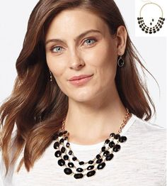 Make your presence felt with AVON's Sparkling Statements Necklace and Earring Set. True style is timeless, shop this gold-tone necklace and earring set. Handmade Bridal Jewellery, Bridal Jewelry, Earring Backs, Earring Set, Fashion Necklace, Fashion Jewelry, Fashion Bracelets, Makeup For Sale, Bridal Makeup Tips