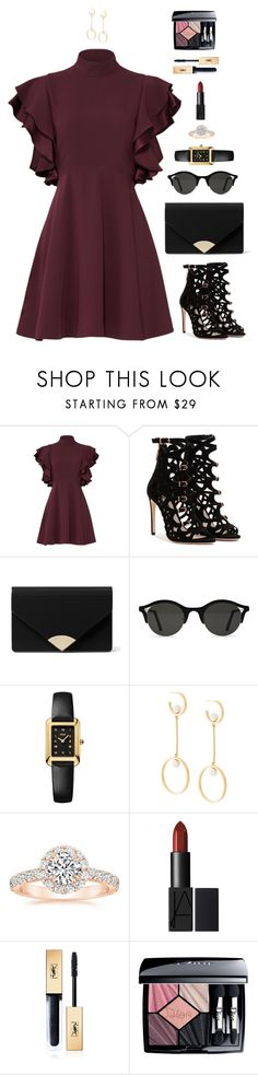 """She tastes like sunshine and marshmallows"" by xoxomuty on Polyvore featuring Cinq à Sept, MICHAEL Michael Kors, Fendi, Chloé, Yves Saint Laurent, Christian Dior, ootd and polyvoreOOTD"