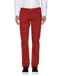 ALV ANDARE LONTANO VIAGGIANDO Men's Casual pants Brick red 34 waist