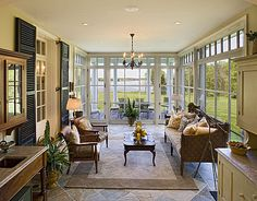 Over 50 Different Sun Room Design Ideas.   http://pinterest.com/njestates/sun-room-ideas/   Thanks to http://njestates.net/