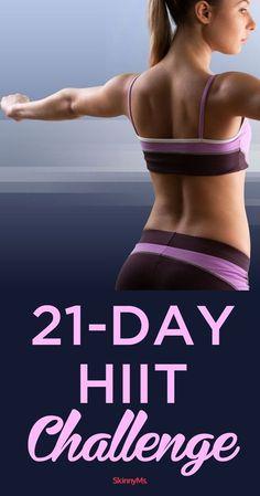 Take the 21-Day HIIT Challenge!