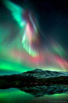 Aurora with water.