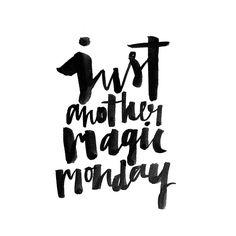 just another magic monday #jasminedowling ❥