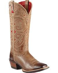 Ariat Madrina Cowgirl Boots - Square Toe - Sheplers