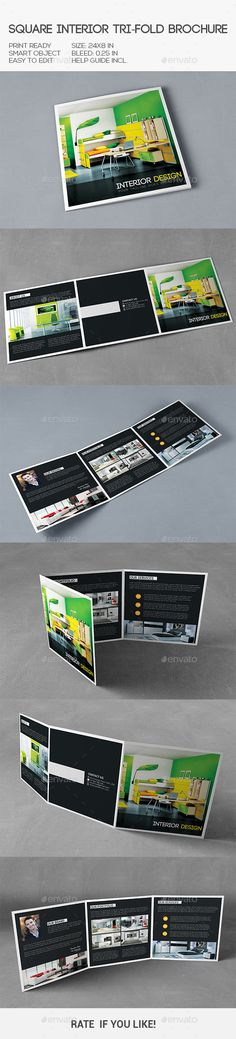 Square Interior Trifold Brochure Template.Download: http://graphicriver.net/item/square-interior-trifold-brochure/10286642?ref=ksioks