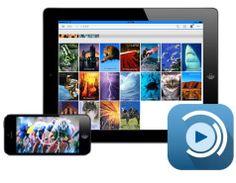 """A través de la app gratuita """"Seagate Media App""""  podremos realizar toda la gestión del contenido multimedia que tengamos almacenado en nuestro Lacie Fuel"""