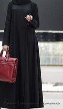 The most beautiful dress in Islam for a women Abaya Designs, Burqa Designs, Hijab Outfit, Hijab Dress, Islamic Fashion, Muslim Fashion, Abaya Fashion, Fashion Dresses, Abaya Mode