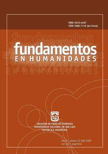 Fundamentos en Humanidades [recurs electrònic] San Luis : Universidad Nacional de San Luis