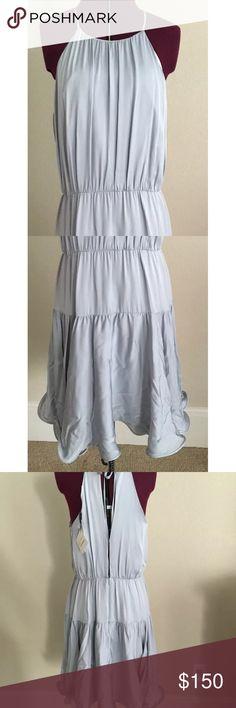 Tibi pale blue silk dress Gorgeous! Never been worn. Excellent condition! Tibi Dresses