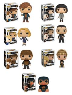 queenie goldstein | Fantastic Beasts and Where to Find Them Complete Set (7) Funko Pop!