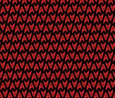 Star Trek TOS Engineering Insignia fabric by meglish on Spoonflower - custom fabric